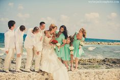 Happiness in Bahia Principe Riviera Maya #wedding