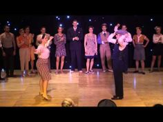 ESDC 2013 - All Star Lindy Hop Jack & Jill - Finals - William Mauvais & Alice Mei - YouTube