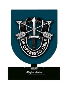 19th Special Forces Group Table Top Sign
