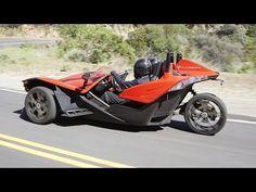 3-Wheeled Motorcycles - Polaris Slingshot SL LE