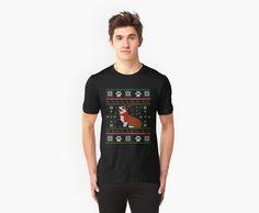 Corgi dog- Ugly Christmas Sweater2 by FunnyMusicNotes