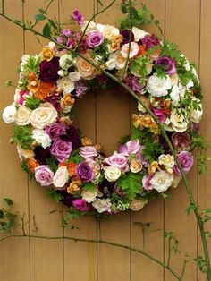summer wreath - just beautiful ♥