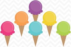 clip art of neapolitan ice cream cone with sprinkles and a cherry on