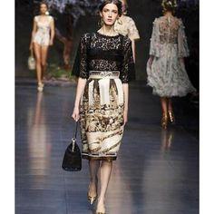 2014 new in fancy fashionable lace splicing lady dress