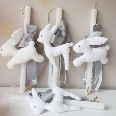 """91 """"Μου αρέσει!"""", 2 σχόλια - @makingstories_ στο Instagram: """"Μπροντερί σειρά σε λαμπάδες με ελαφάκια & κουνελάκια! #embroidery #candles #easterbunny #bunnies…"""""""