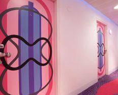 Pink Door Formica® Envision™  #Formica #Envision #Design #custom #laminate