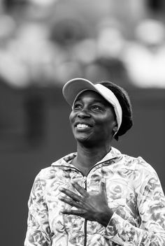 #VenusWilliams #tennis Venus Williams returns to Indian Wells for the first time in 15 years, she plays Kurumi Nara in the Women's Singles Second Round in Stadium 1 at the Indian Wells Tennis Garden in Indian Wells, California Friday, March 11, 2016. (Photo by Michael Cummo/BNP Paribas Open)