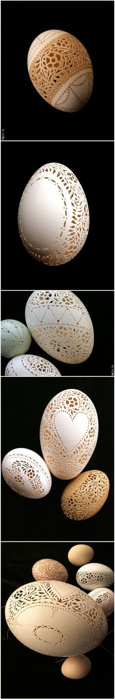 Perforated eggs