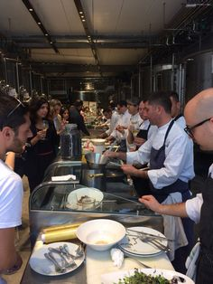 Love my job! Be to be Chic chef and Cusumano winery