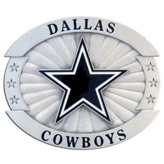 NFL Dallas Cowboys Oversized Buckle by Siskiyou. Save 1 Off!. $17.77. NFL  Oversized Buckle