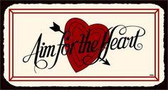 Vintage Metal Art Valentine Retro Tin
