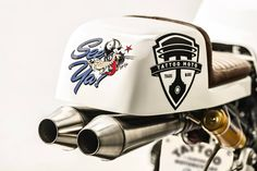 Bmw R80 Cafe Racer by Tattoo Moto - Graphic by D.Vincente #motorcycles #caferacer #motos | caferacerpasion.com