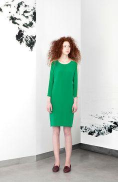 Yoke Sleeve Dress - Carleen