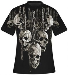 T-Shirt Mec All Over DARK WEAR - Hanging Out