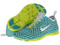 Nike Free 5.0 TR Fit 4 Print Turbo Green/Venom Green/Pure Platinum/White - Zappos.com Free Shipping BOTH Ways