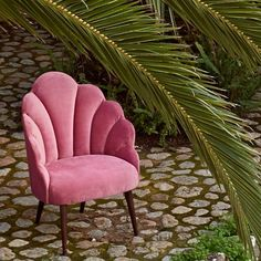 New & Improved, our pink velvet shell chair is now available! Isn't she a lovely. Design Seeds, Hallway Chairs, Sissy Boys, Pink Velvet, Sofa Chair, Accent Pieces, Girl Boss, Home Accents, Decorative Accessories