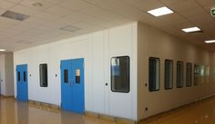 Hygienic Doors for Cleanroom Environment