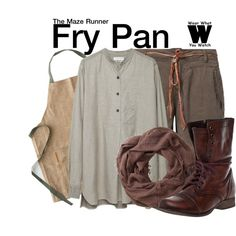 Inspired by Dexter Darden as Fry Pan in 2014' The Maze Runner.