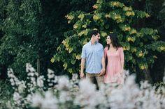 Knoxville Botanical Gardens Engagement Photos | Erin Morrison Photography www.erinmorrisonphotography.com