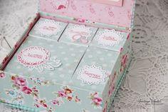 Scrap Decor Анастасия Хаджи: МК коробочка Мамины сокровища