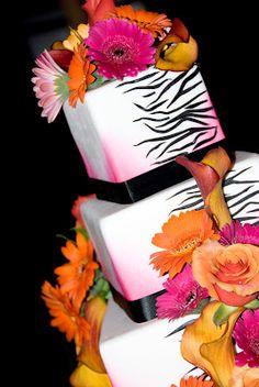 Zebra Wedding, I LOVE this!!!