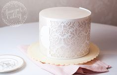 Cake stenciling can completely elevate your design — if you can achieve a clean, professional finish. Learn how to use cake stencils here!