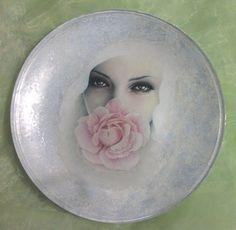 Тарелки http://dcpg.ru/blogs/5931/ Click on photo to see more! Нажмите на фото чтобы увидеть больше! decoupage art craft handmade home decor DIY do it yourself plate