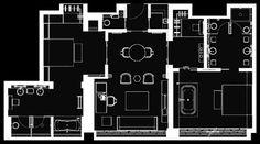 The Puli Shanghai jingan-suite floorplan