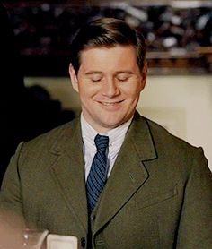 Downton Obsession...Branson, Downton Abbey, Season 6, reflecting on the kindness of Sybil..
