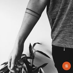 — #bandtattoo #noteasy #armband #tattoo #tattooart...