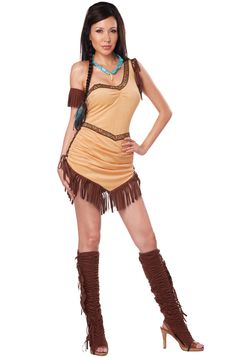 Princess Pocahontas Costume | Sexy Disney Princess Costumes | Holiday | Pinterest | Costume supercenter Pocahontas costume and Costumes  sc 1 st  Pinterest & Princess Pocahontas Costume | Sexy Disney Princess Costumes ...