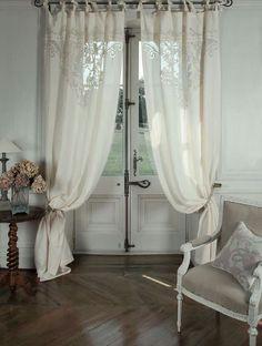 tende shabby chic cucina - Cerca con Google | Curtains | Pinterest ...