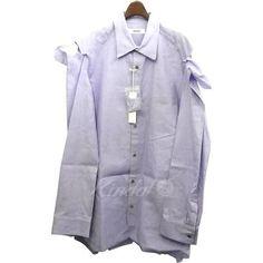 sulvam 18AW「Open Sleeve SH」オープンスリーブシャツ Raincoat, Sleeves, Jackets, Fashion, La Mode, Fashion Illustrations, Fashion Models, Cap Sleeves