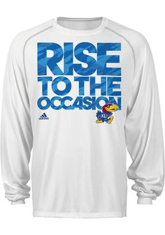 KU new March Madness Adidas apparel. Really want this!
