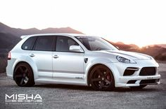 Porsche Cayenne Body Kit Wide Misha Designs white GTS 22 600x399