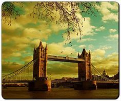 "Architecture London Tower Bridge Customizable Gaming Mouse Pad 240x200x3mm(9.45""x7.87""x0.12"") by iCustom&Shop Mouse Pads http://www.amazon.com/dp/B017I4WDCS/ref=cm_sw_r_pi_dp_OXhowb0GW6F2J"
