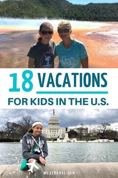 18 Best Vacations for Kids in the United States