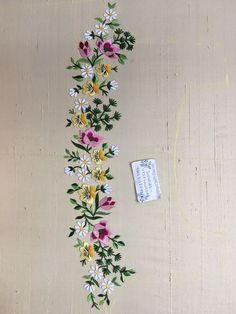 Indian Embroidery Designs, Embroidery Designs Free Download, Border Embroidery, Floral Embroidery Patterns, Hand Embroidery Videos, Hand Embroidery Flowers, Hand Work Embroidery, Hand Embroidery Stitches, Free Machine Embroidery Designs