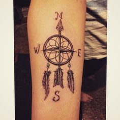 Outstanding Compass Tattoo Ideas - You Can't Go Wrong With Them From: TattoosWin.com/