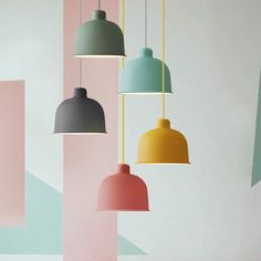 Nordic Pendant Lights For Home Lighting Modern Hanging Lamp Iron Lampshade LED Bulb Bedroom Coffee Kitchen Light Interior Lighting, Home Lighting, Modern Lighting, Lighting Design, Pendant Lighting, Pendant Lamps, Modern Hanging Lights, Kitchen Lighting Fixtures, Dining Room Lighting