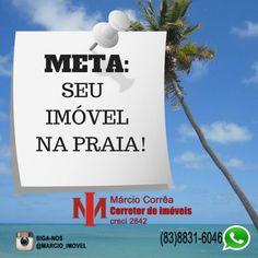 Boa tarde. Estamos a sua disposição!!! #jacuma #carapibus #tabatinga #coqueirinho #conde #www.marcioimovel.com
