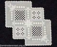 Hardanger Table Centre