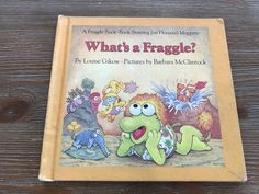 What's a Fraggle? Fraggle Rock Book (1984) by BourgettesBookshelf on Etsy