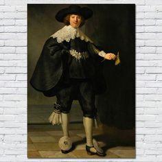 Poster Marten Soolmans - Rembrandt van Rijn