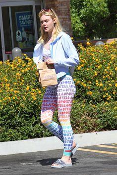 elle fanning outside a pharmacy in Los Angeles. 9/9/16.