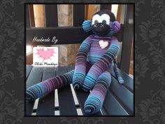 Handmade sock monkey: Martin  The original 100% by ChikiMonkeys