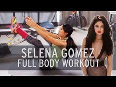 Selena Gomez Full Body Workout - YouTube