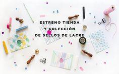 nueva tienda y colección de sellos de lacre