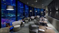Luxury Residence_The IFC Residence, Shanghai by Andre Fu of AFSO | Skylounge Pi Amsterdam, 360' view