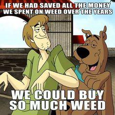 Shaggy n Scooby Funny Weed Memes, Weed Jokes, 420 Memes, Weed Humor, Cannabis, Weed Puns, Scooby Doo Memes, New Scooby Doo, Jokes